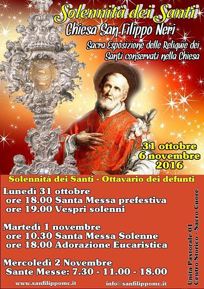 2016 11 01 solennità dei santi